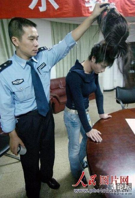 Arrested Hong Kong Prostitutes (4 pics)