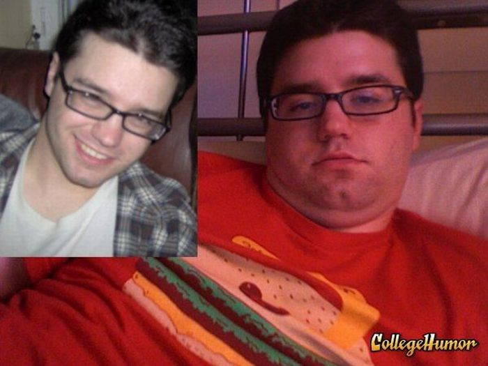 How Freshmen Change in College (12 pics)