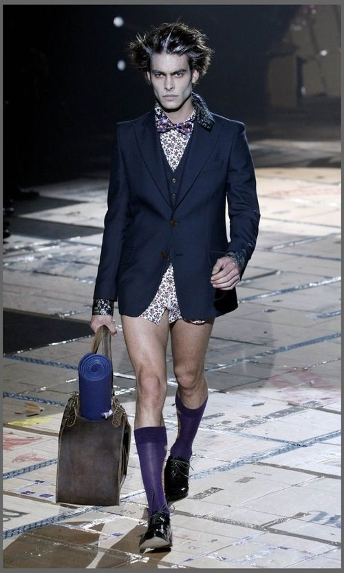 Strange Men's Fashion (22 pics)