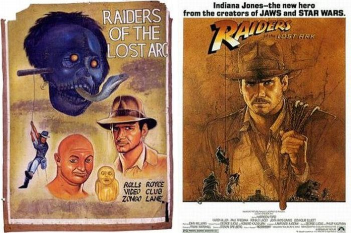 Hand Drawn Movie Posters (68 pics)