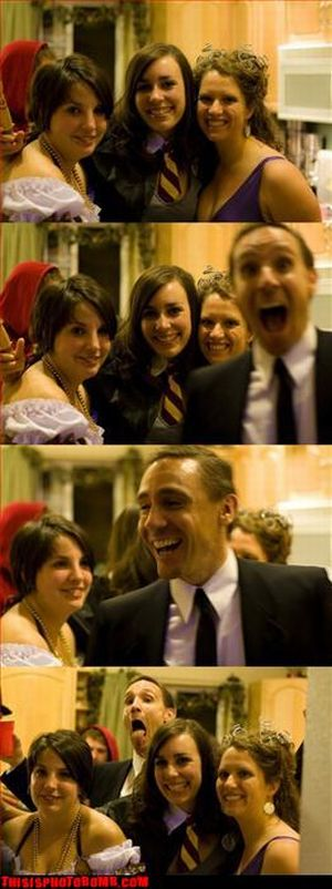 Photobombs. Part III (50 pics)