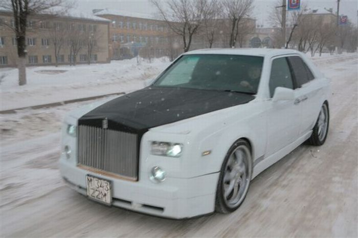 Self-Made Rolls-Royce Phantom (17 pics + video)