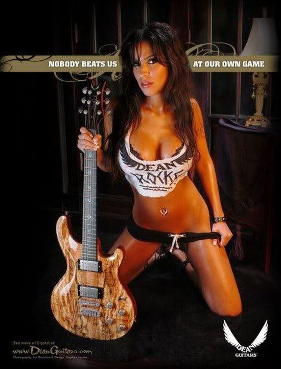 Sexy Girls who Love Music (47 pics)