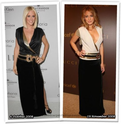 Stars in Similar Dresses (76 pics)
