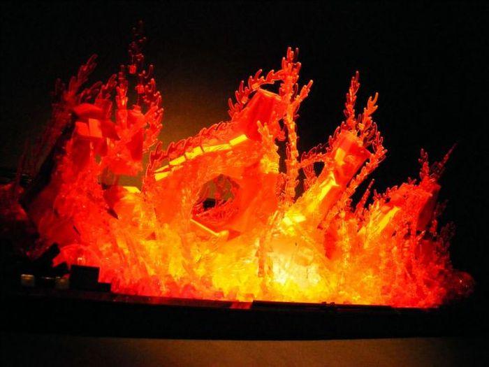 Lego Fire (9 pics)