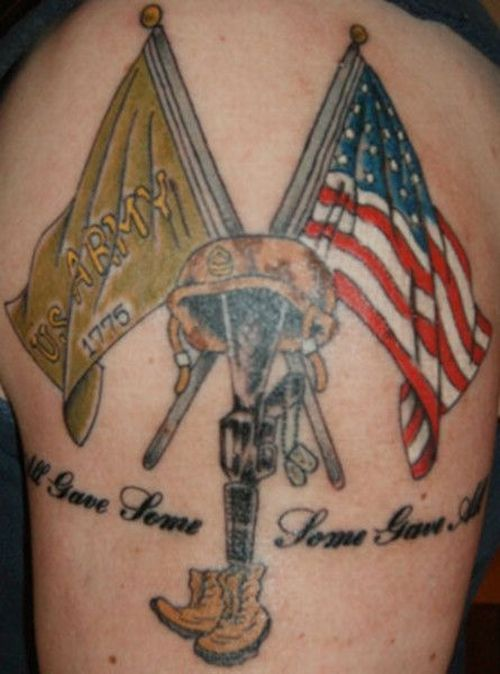 Military Tattoos (30 pics)