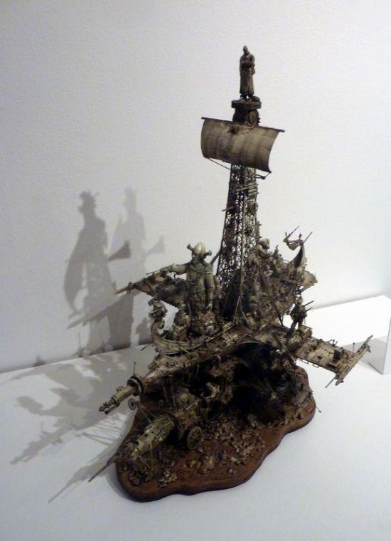 Sculptures by Apocalyptic Sculptor Kris Kuksi (70 pics)