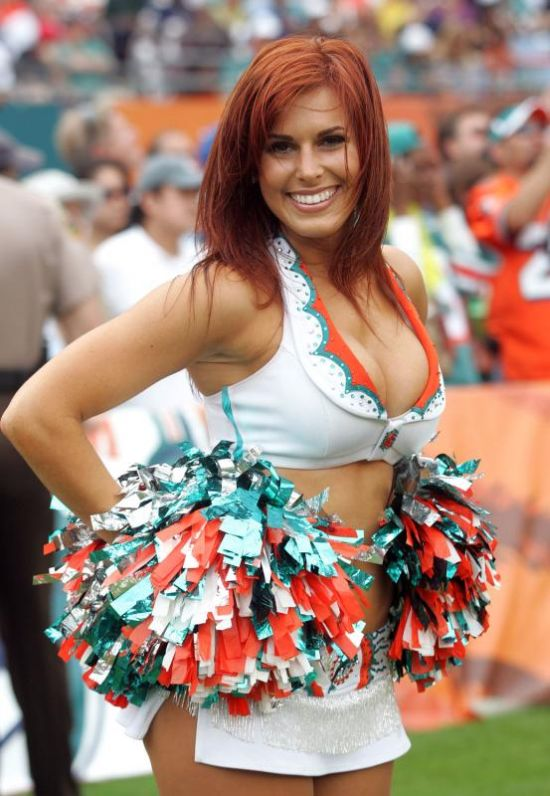 Apologise, but, redhead cheer leader have removed