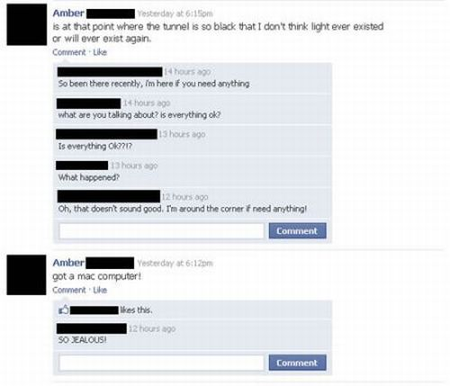 Funny Facebook Moments. Part II (31 pics)