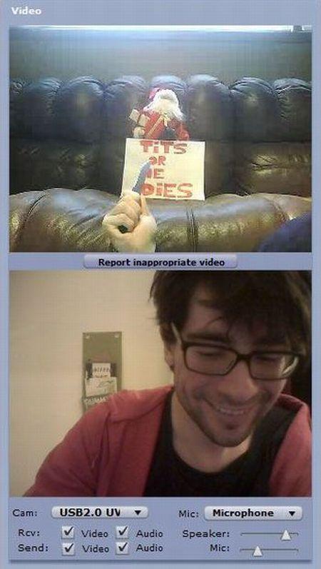 Strange People on Webcams (29 pics)