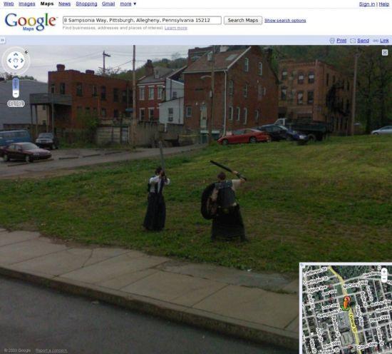 Google Street View Dorks  (19 pics)