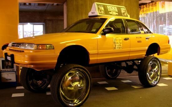World's Most Expensive Taxis (10 pics)