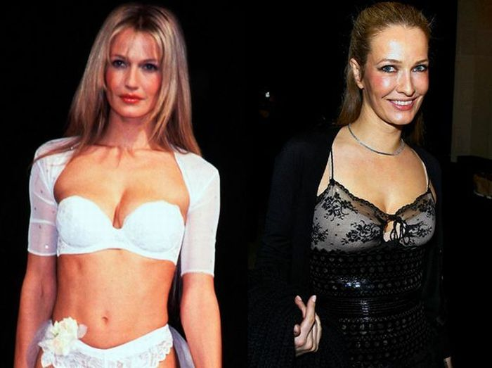 Supermodels Then And Now (22 pics)