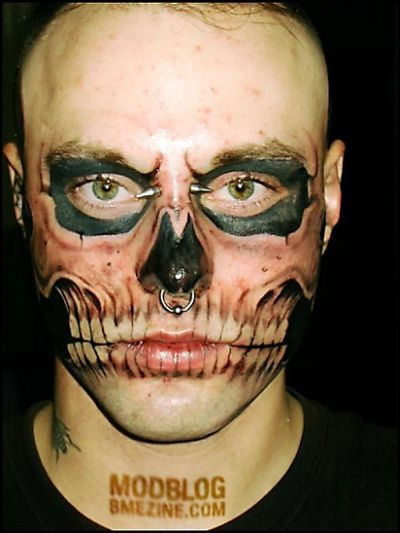 Weirdest Face Piercings  (20 pics)