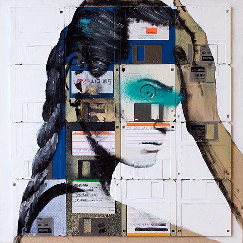 Floppy Disks Art (33 pics)