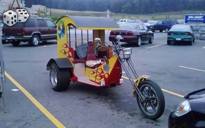 Funny and Weird Vehicles (139 pics)