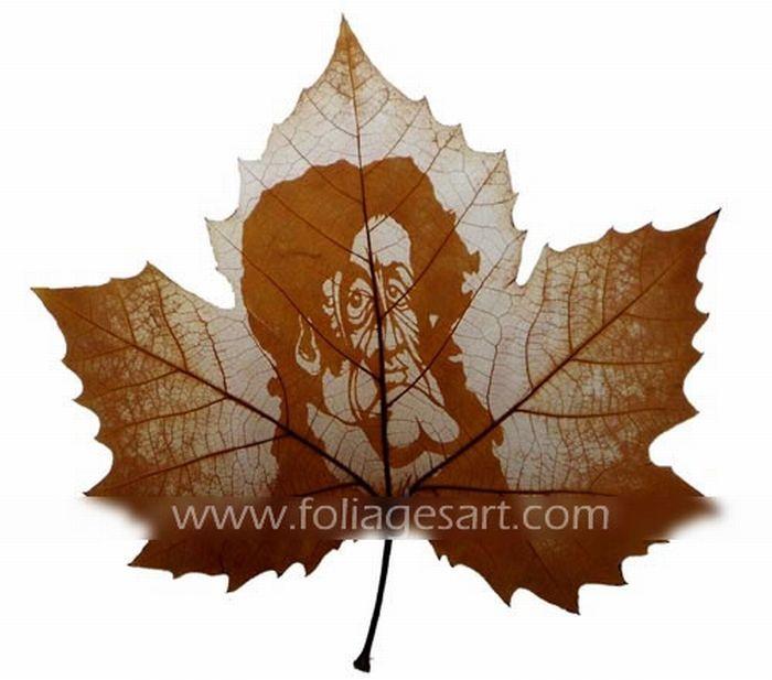 Leaf Carving. Part II (78 pics)