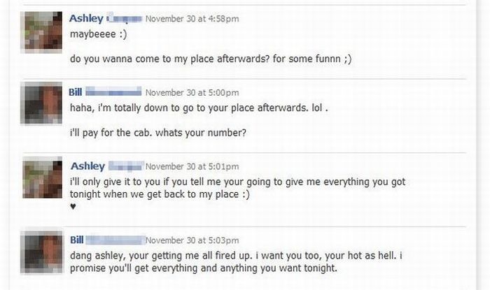 Be Careful What You Say on Facebook (4 pics)