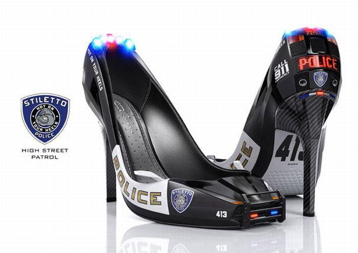 Police Heels (4 pics)