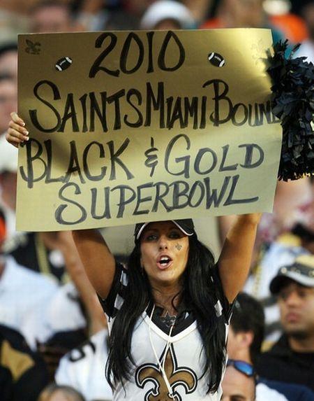 The Hottest Fans of Super Bowl XLIV (33 pics)