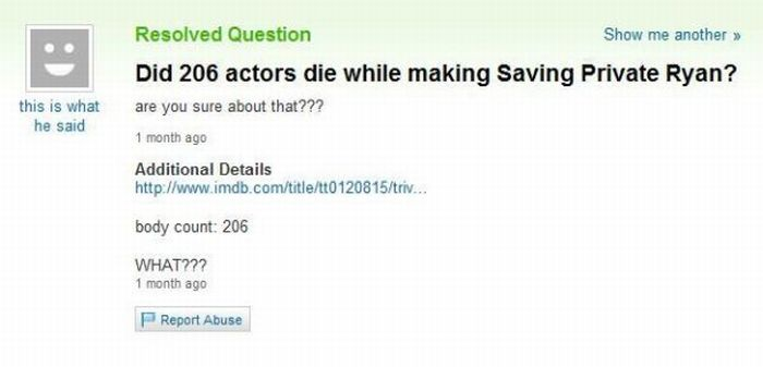 The Best of Yahoo Answers! Part 2 (51 pics)