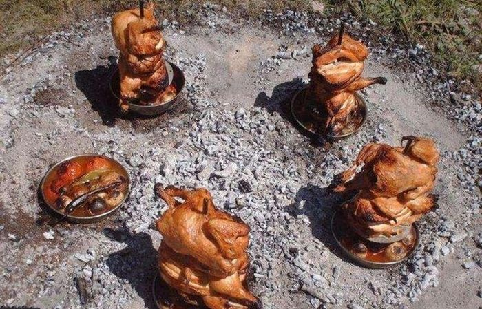 How to Cook a Chicken in Unusual Way (15 pics)