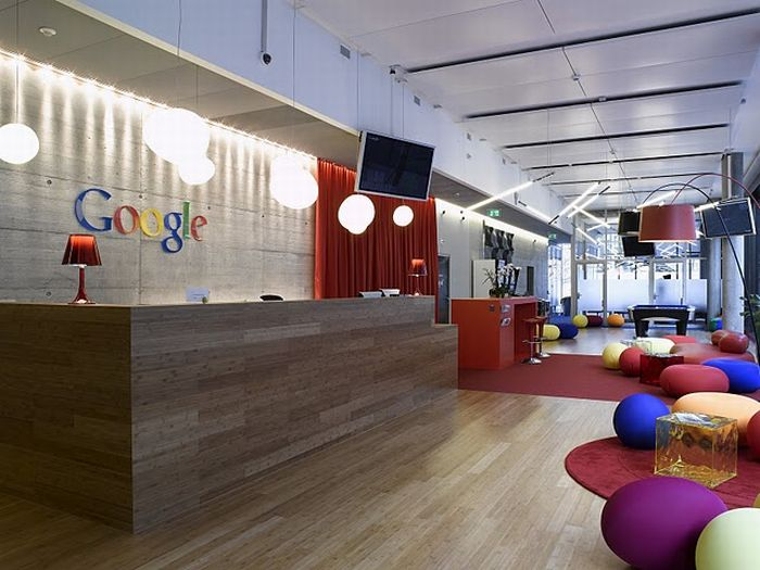 New Google Office in Zurich. Part 2 (68 pics)