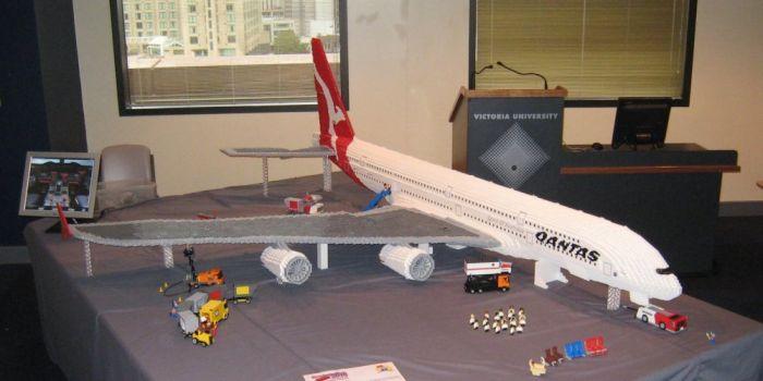 Amazing Lego Airbus A380 (19 pics)