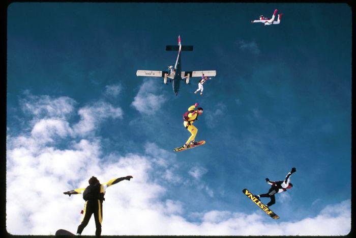 Amazing Skydivers (44 pics)