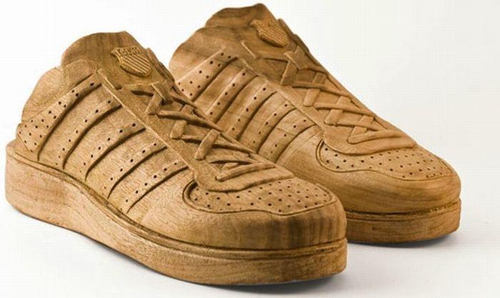Wooden Sneakers (6 pics)