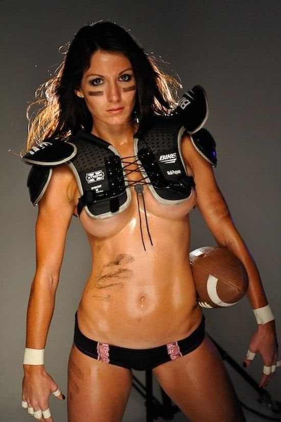 from Armani naked girl football players