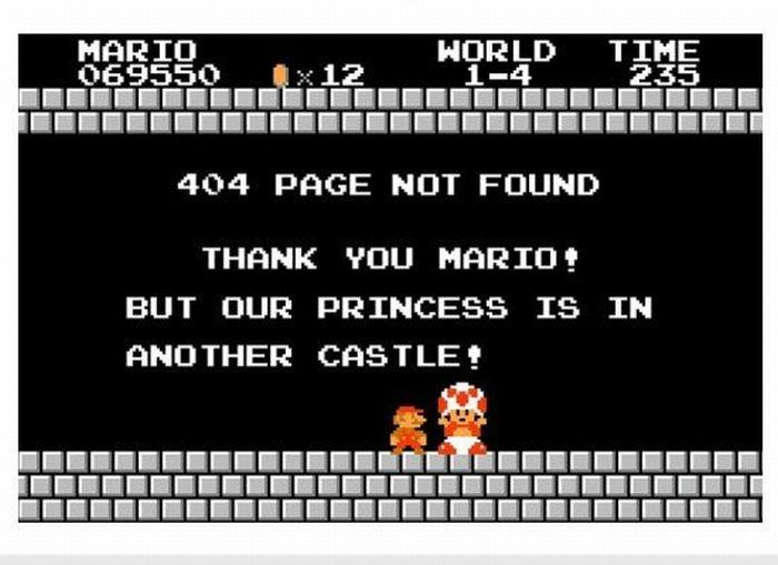 The Best of 404 Error Pages (21 pics)