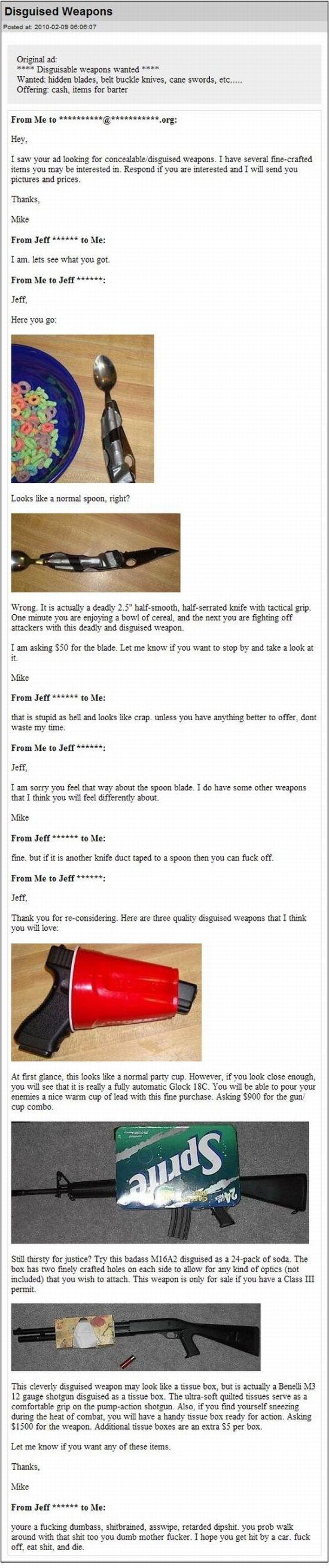 Funny Gun Disguises (pics)