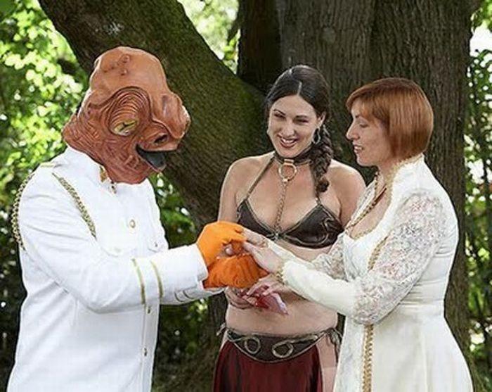 Strange Wedding Pictures