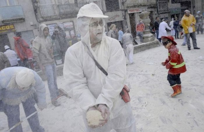 Flour Fight in Spain (17 pics)