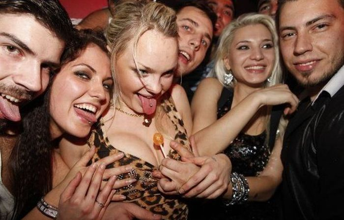 Girls in a Night Club in Athens (66 pics)