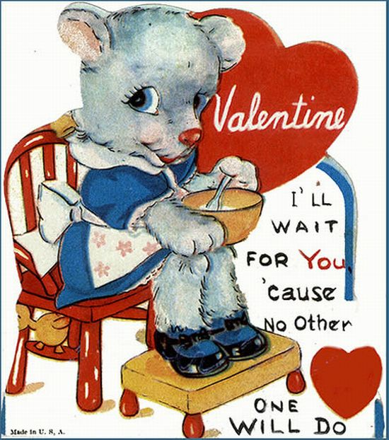 Vintage Valentine Cards with Funny Messages (15 pics)