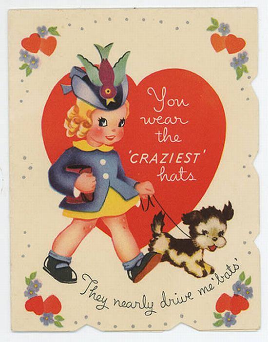 vintage valentine cards with funny messages 15 pics