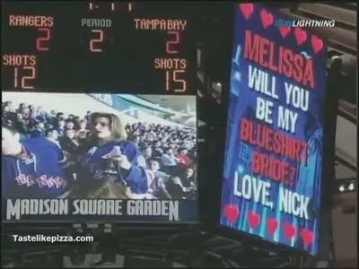 Valentine Proposal Gone Bad