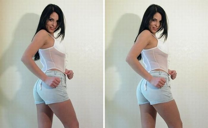 Cute Stereoscopic Girl (10 pics)