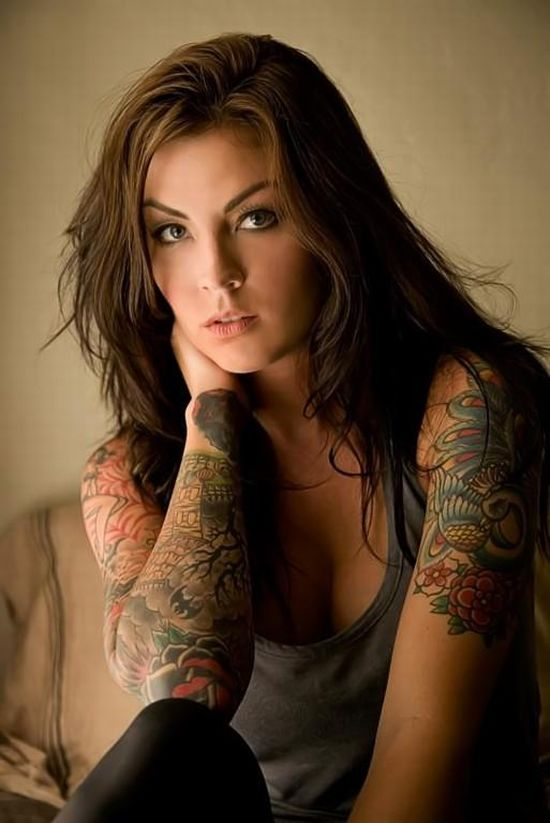 Minas tatuadas.... :F !