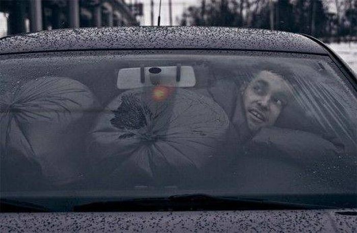 Looking Trough The Windshield (24 pics)