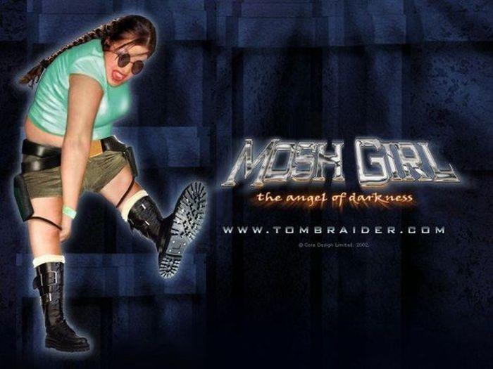 Mosh Girl (78 pics)