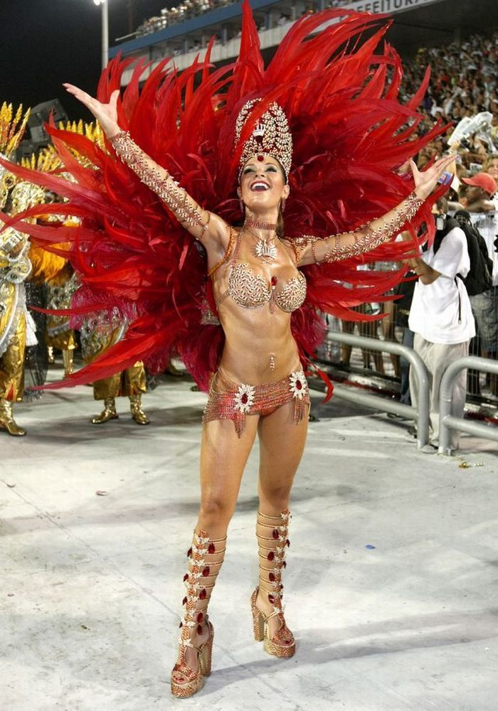 Rio De Janeiro Carnival Girls 125 Pics-8363