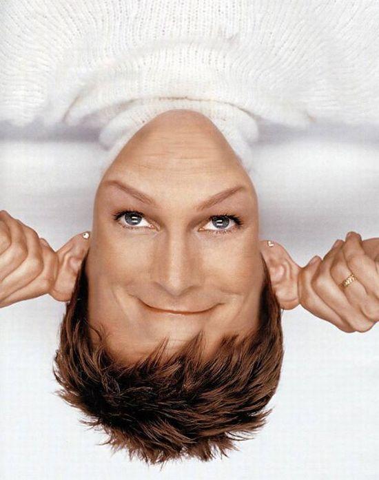 Famous Faces Upside Down (60 pics)