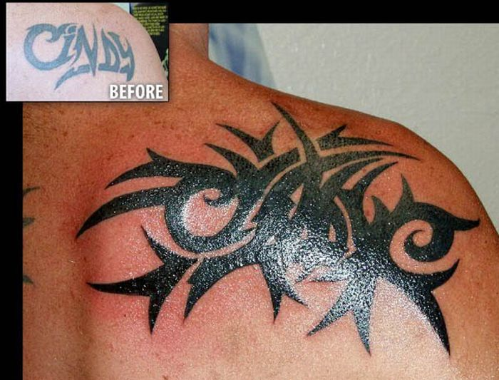 Cover Up Tattoos (18 pics)