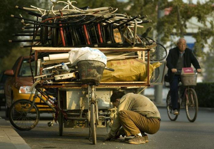 Several Ways to Transport Garbage in China (17 pics)