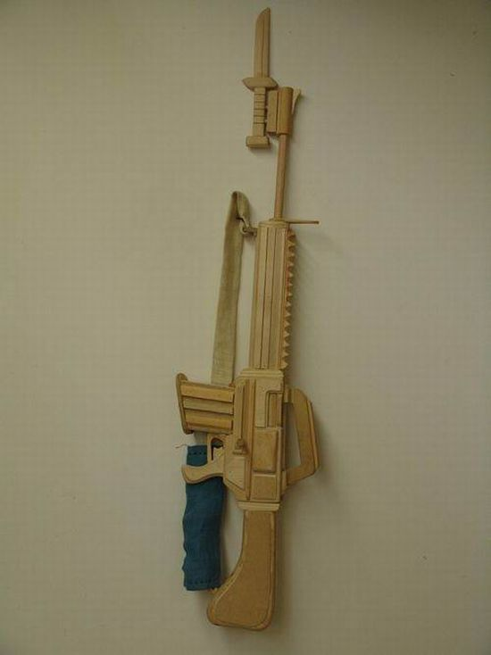Amazing Wooden Toys (34 pics)