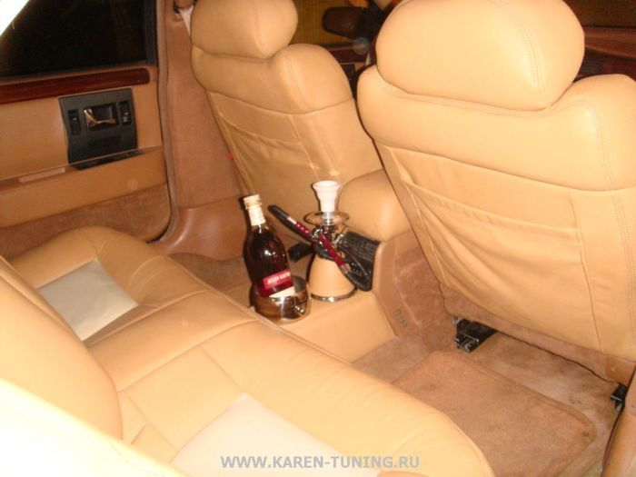 Russian Tuning of Cadillac STS (12 pics)