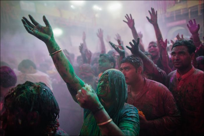 Indian Festival of Colors Holi (28 pics)